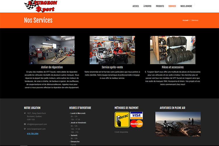PSA Racing website design hosting and development halifax nova scotia