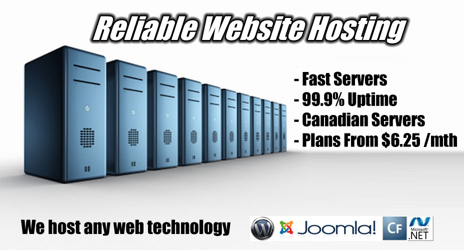 Website Hosting in Halifax Nova Scotia!